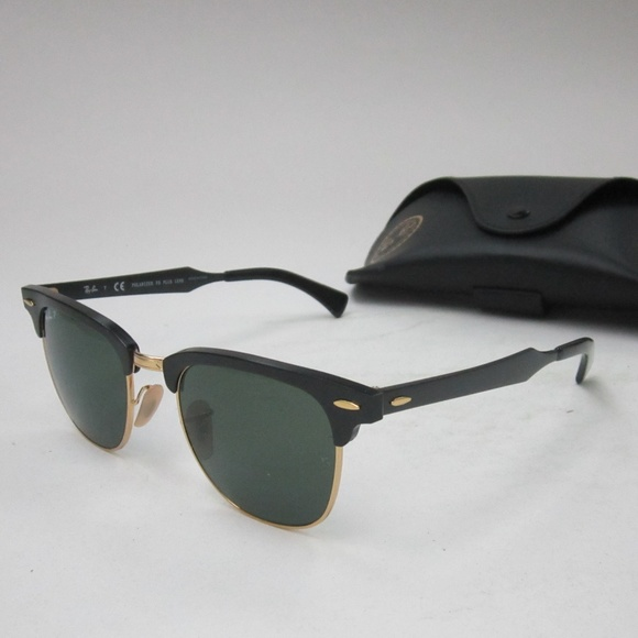 aee1a13b02 RayBan Clubmaster RB3507 136 N5 Sunglasses OLG549.  M 5b7b1471d6dc5277e50a29b0